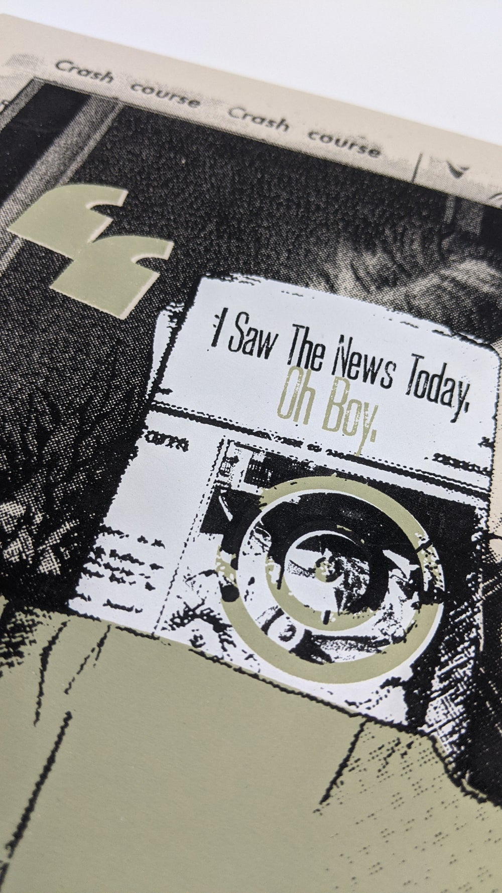 """I Saw The News Today, Oh Boy"" Art Print"