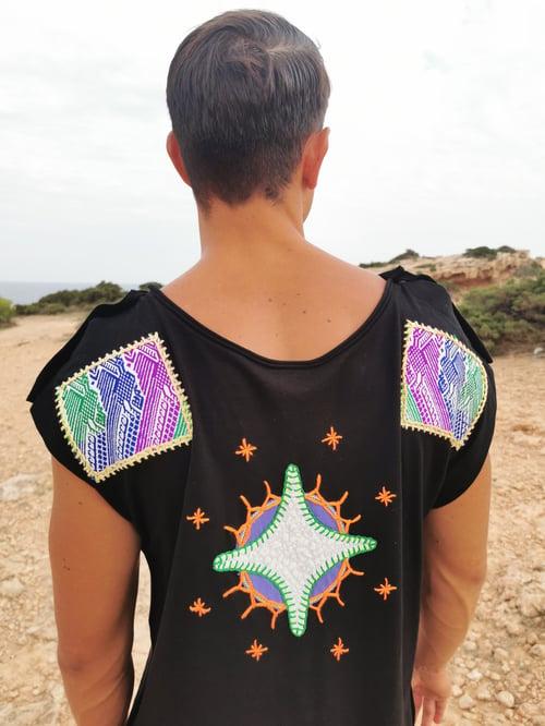 Image of Black Peyote Tunic