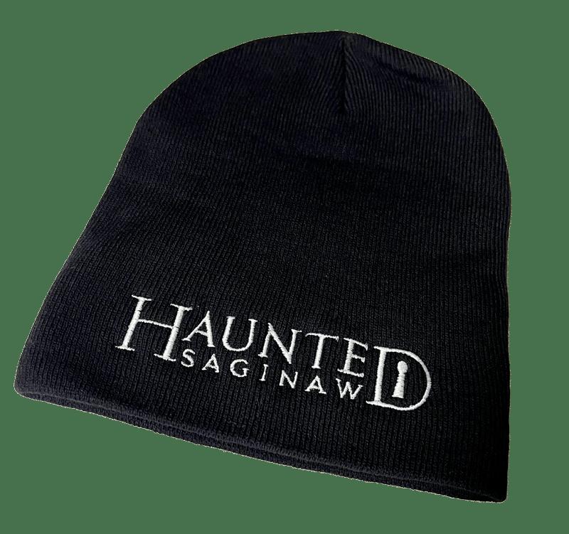 Image of Haunted Saginaw Logo Knit Beanie