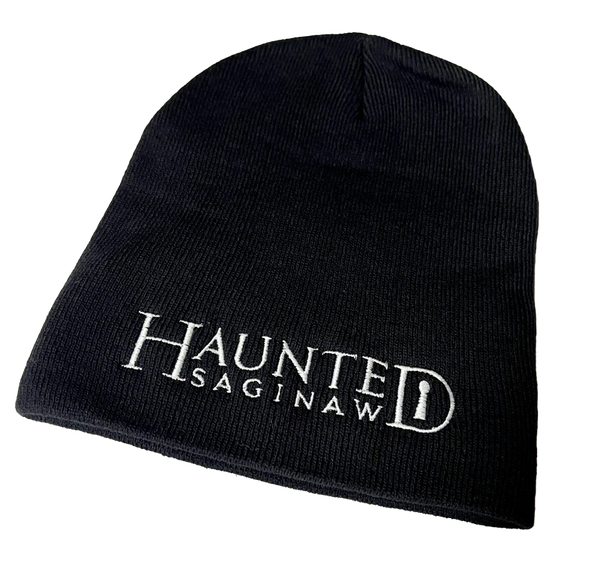Image of Haunted Saginaw Logo Knit Beanie