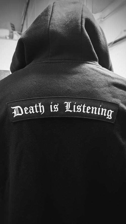 Image of Death is Listening Back Patch