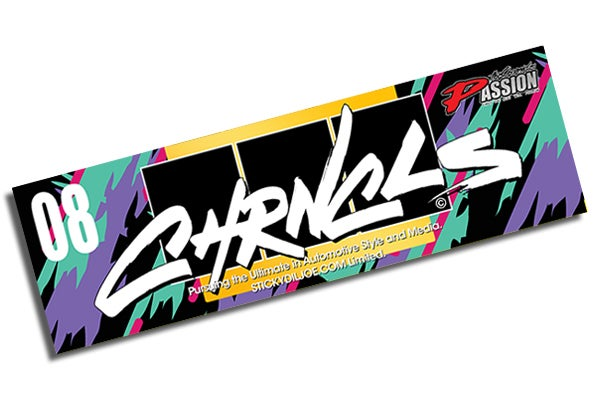 Image of The Chronicles HKS Tribute Decal Ver II (NEW)