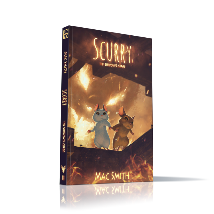 Image of Scurry Book 3: The Shadow's Curse HARDCOVER
