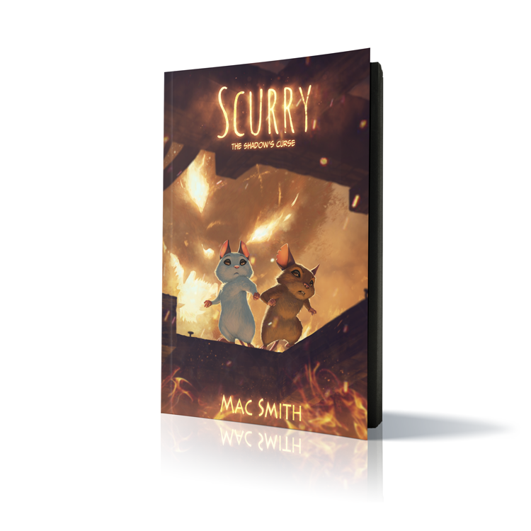 Image of Scurry Book 3: The Shadow's Curse PAPERBACK