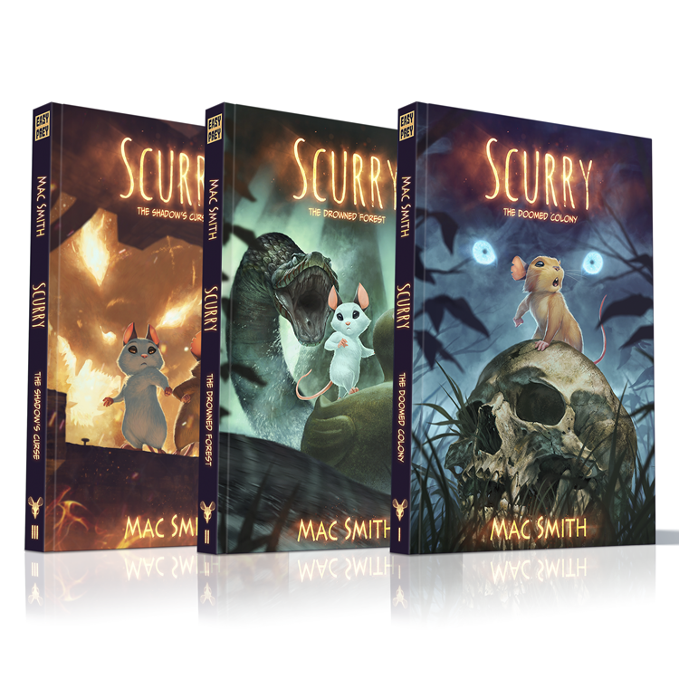 Image of Hardcover Trilogy Set <s>$105</s>