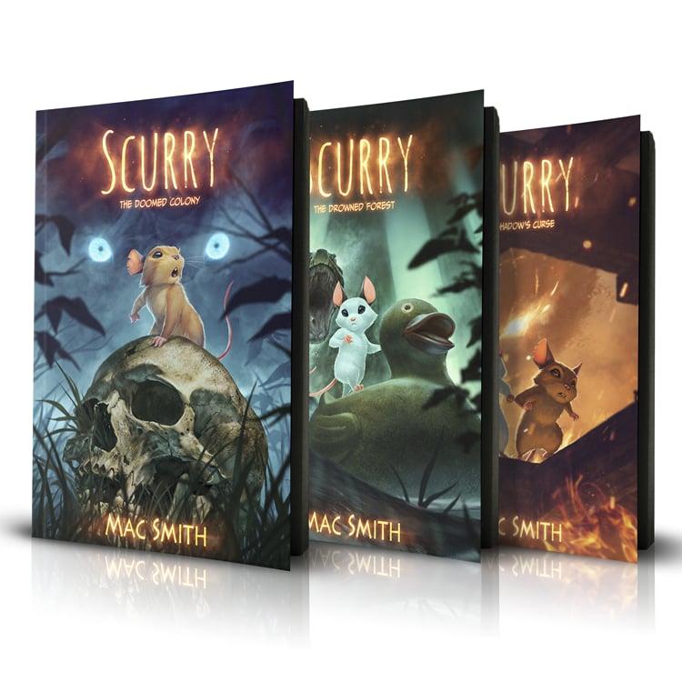 Image of Paperback Trilogy Set <s>$75</s>