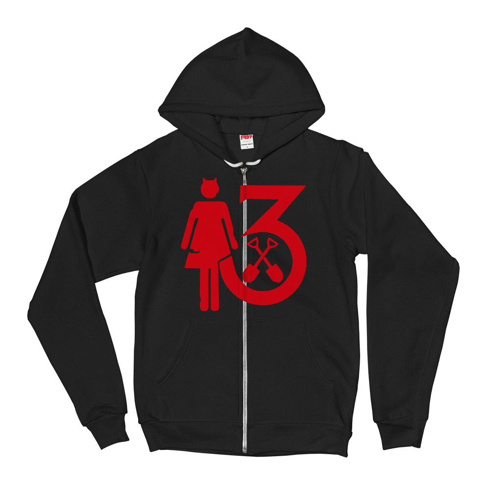 "Image of WEDNESDAY 13 ""MR. MOTHERFUCKER"" HOODIE"