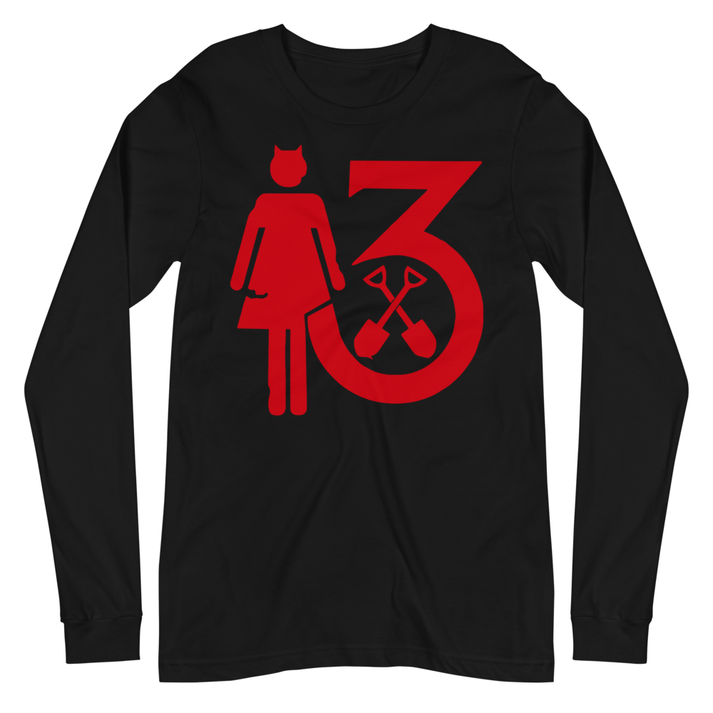 "Image of WEDNESDAY 13 ""MR. MOTHERFUCKER"" - UNISEX LONG SLEEVE TEE"