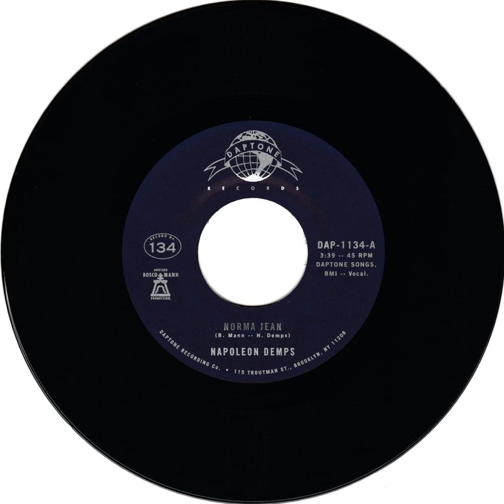 "Napoleon Demps - Norma Jean b/w Instrumental (7"")"
