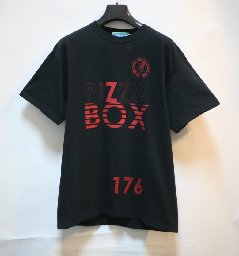 Image of Black Pizza Box Tee Shirt