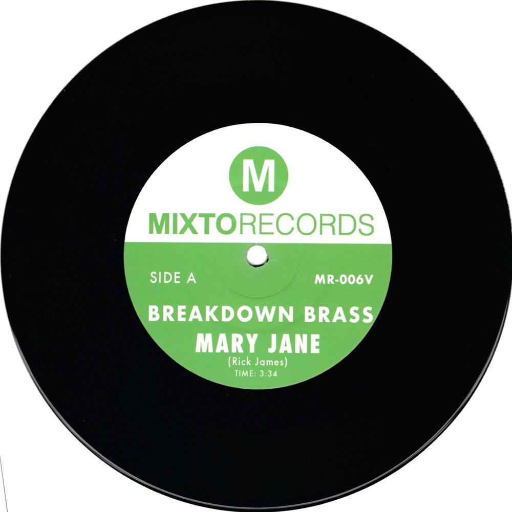 """Breakdown Brass - Mary Jane b/w The Horseman (7"""")"""
