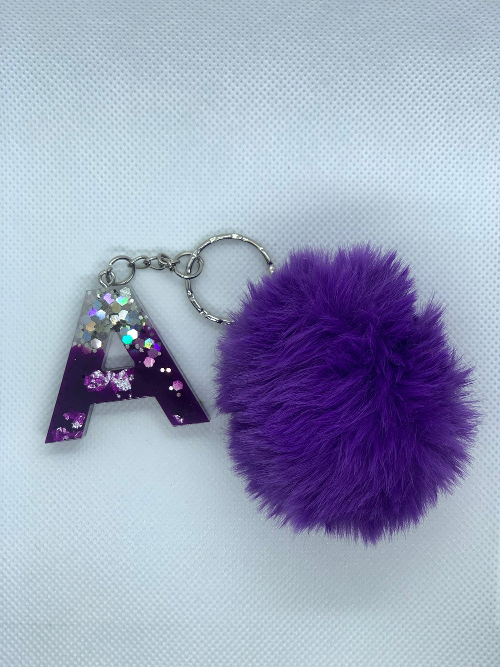 Image of Initial keychain