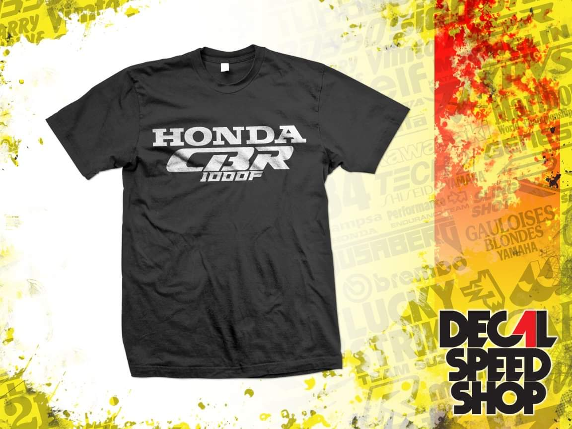 Honda CBR 1000 F,Pinup,Motorrad,Bike,Oldtimer,Youngtimer T-Shirt