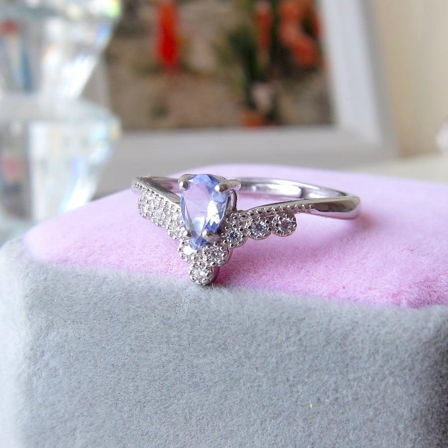 Image of Tanzanite Empress ring