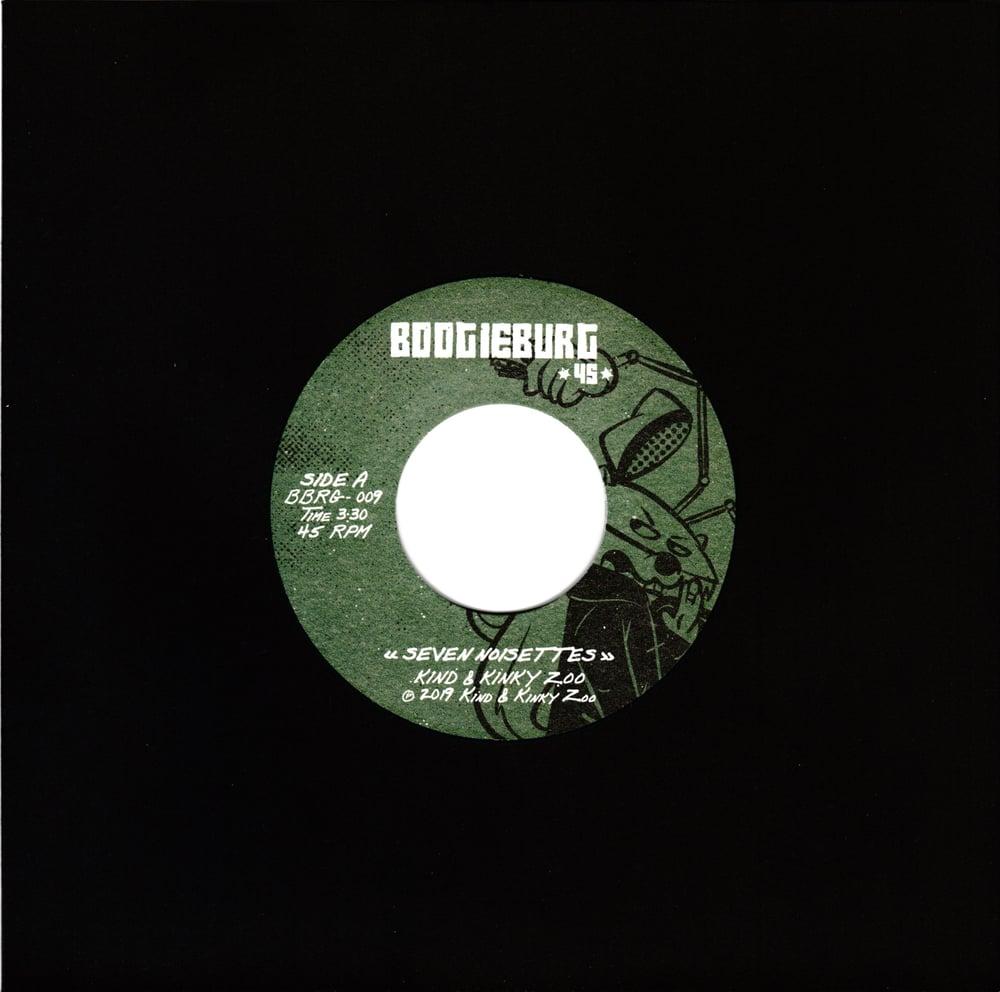 """Kind & Kinky Zoo - Seven Noisettes b/w Poulpe Fiction (7"""")"""