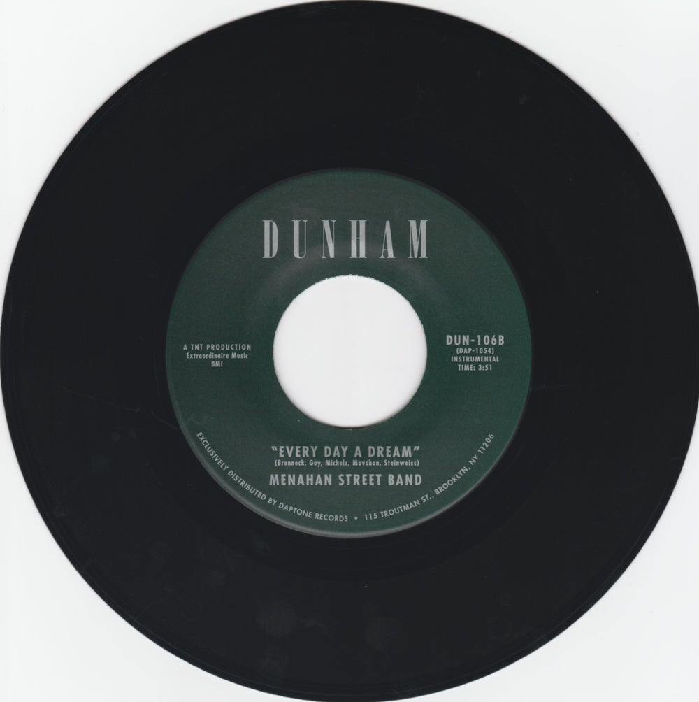 "Menahan Street Band - The Crossing b/w Every Day A Dream (7"")"