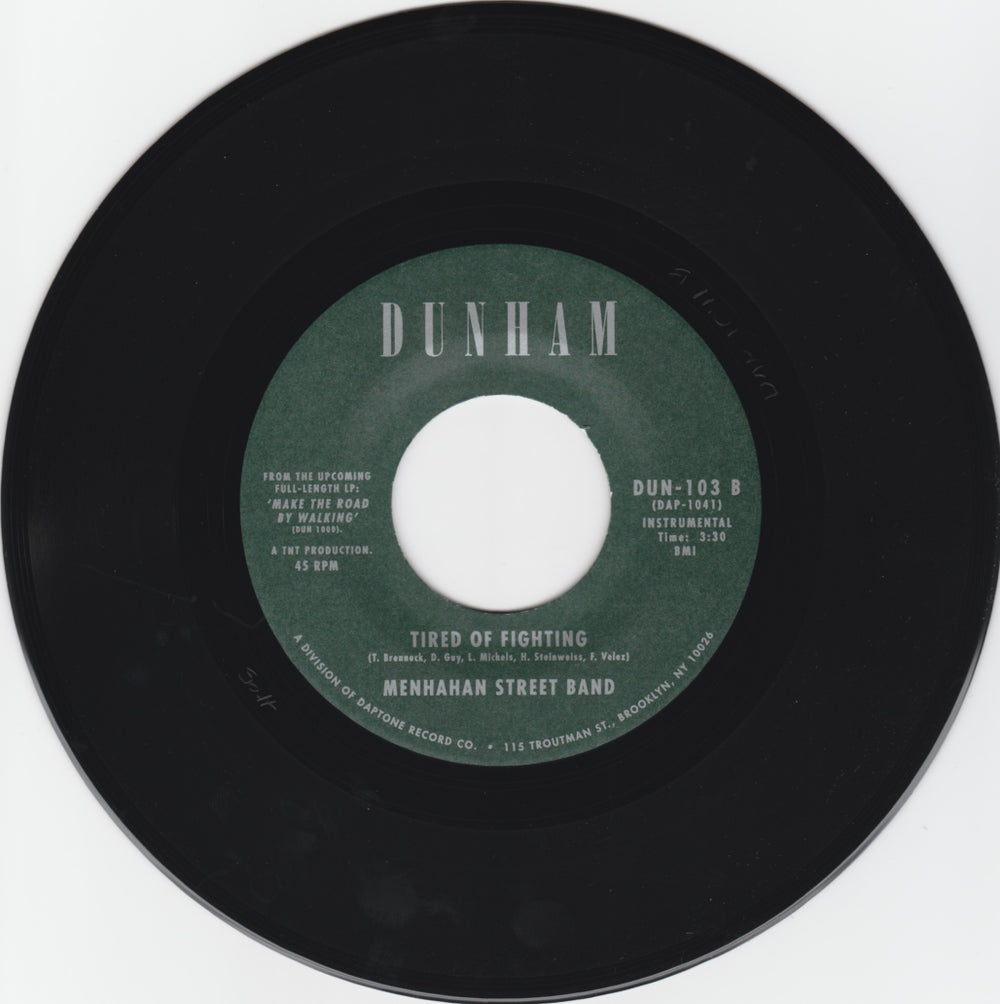 "Charles Bradley - The Telephone Song b/w Tired Of Fighting (7"")"