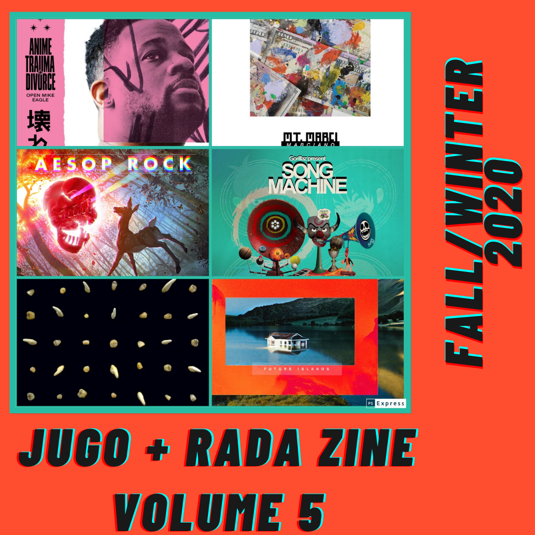 Jugo and Rada Fall/Winter 2020 Zine Issue #5