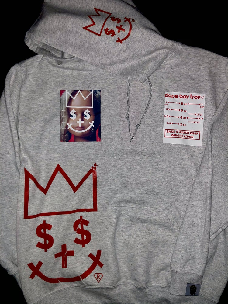 Image of WHITE CHRISTMAS PYREX PATTY ALMIGHTY HOODIE