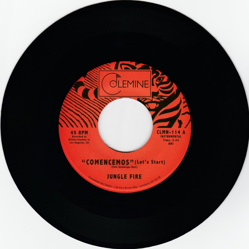"Jungle Fire - Comencemos (Let's Start) b/w Tokuta (7"")"