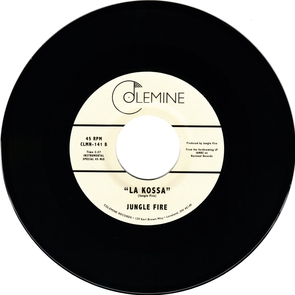 "Jungle Fire - N.U.S.A.U. b/w La Kossa (7"")"
