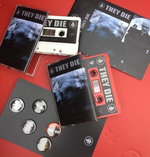 Image of THEY DIE - DEVIANT LOVE - CD AND CASSETTE