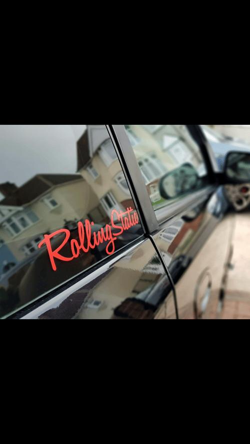 Image of RollingStatic Window Sticker 200mm