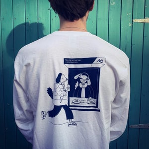 MDR x Refreshments Long Sleeve by Abby Bird