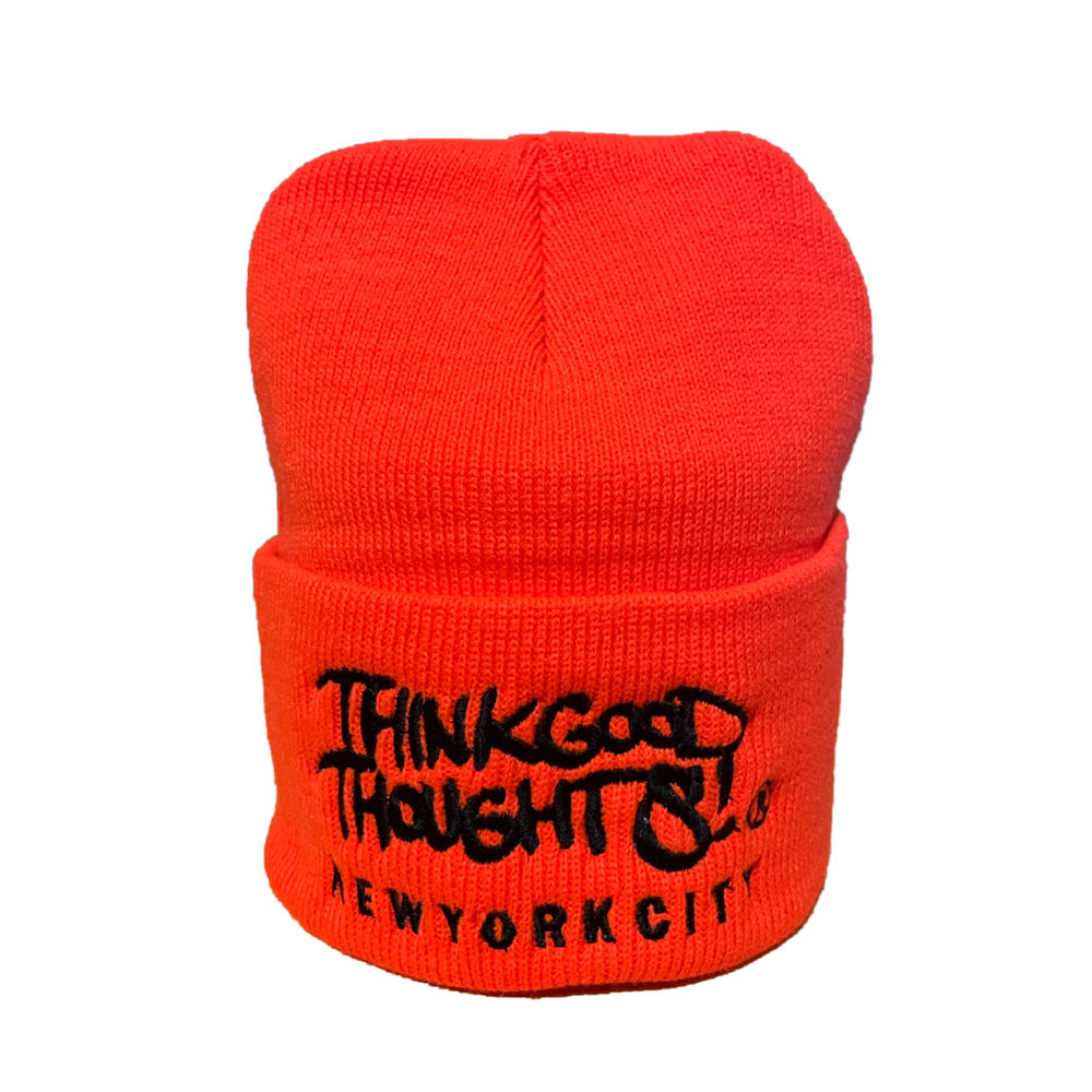 Image of Original Logo Beanie - Orange