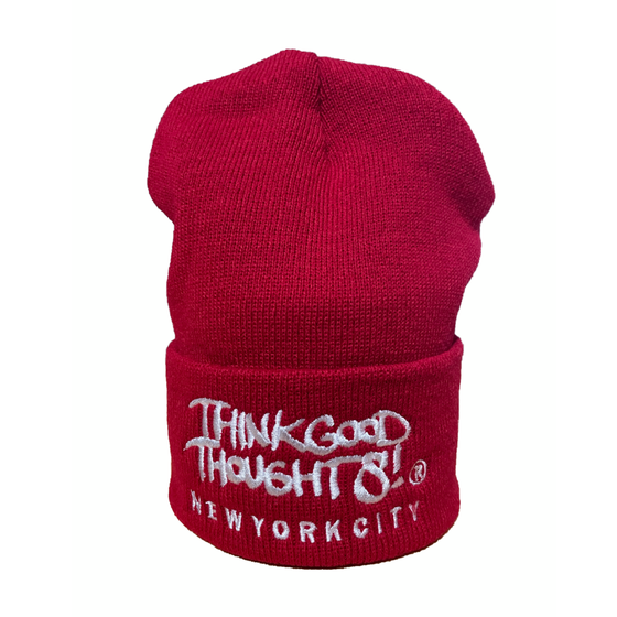 Image of Original Logo Beanie - Red