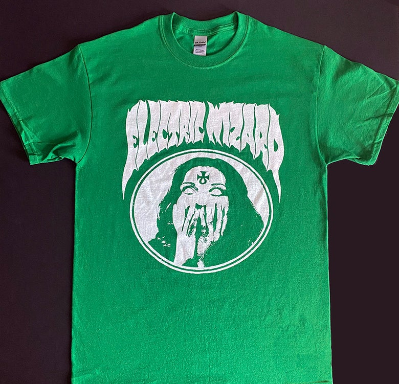 Image of Electric Wizard - Green T shirt