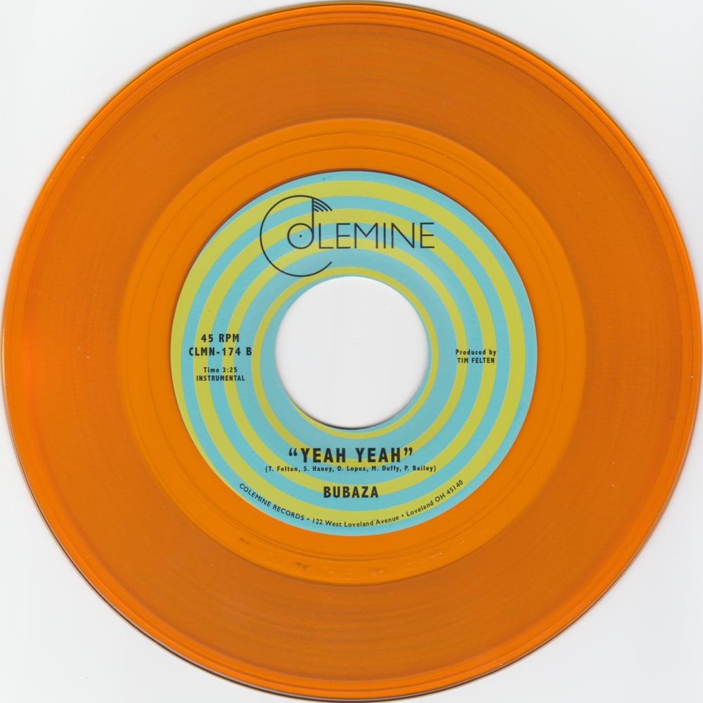 """Bubaza - Ice Breaker b/w Yeah Yeah (limited translucent orange 7"""")"""