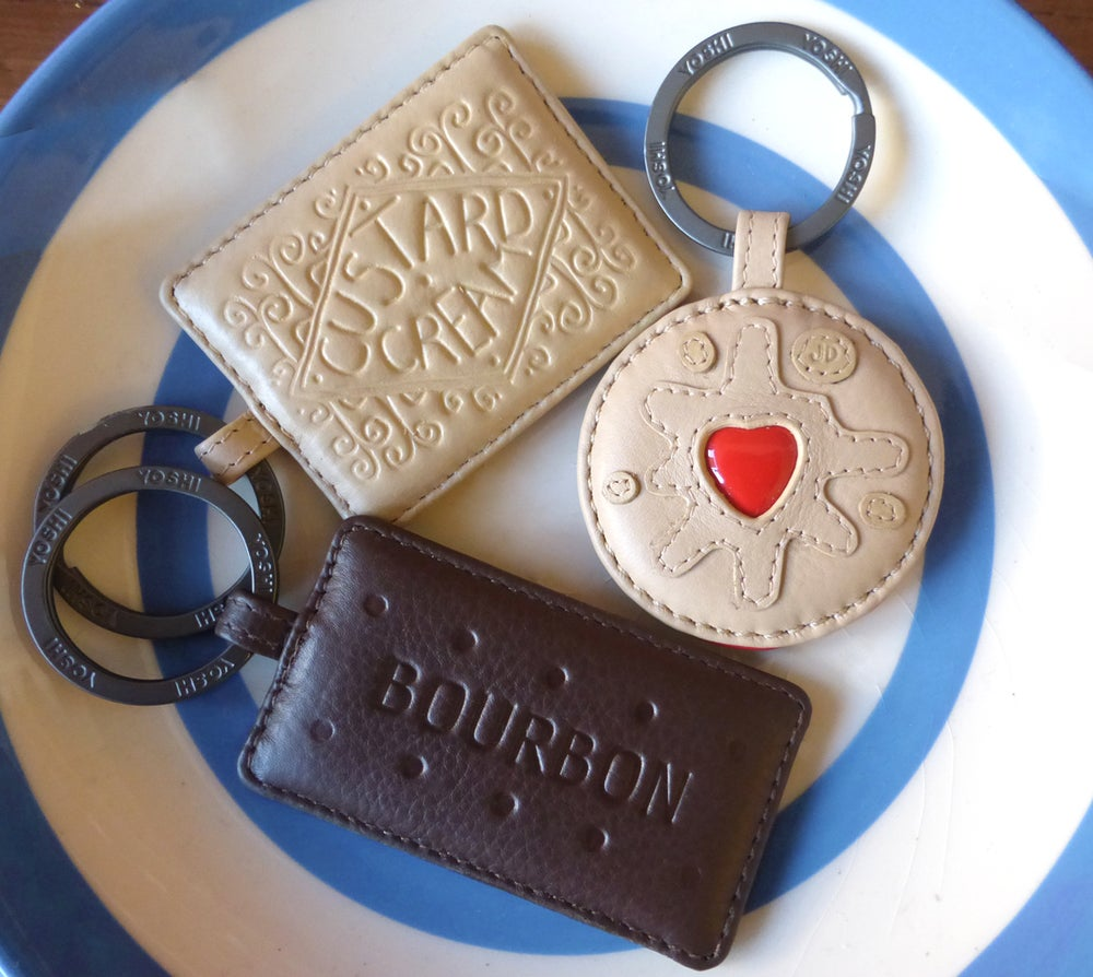 Image of Biscuit Keyring