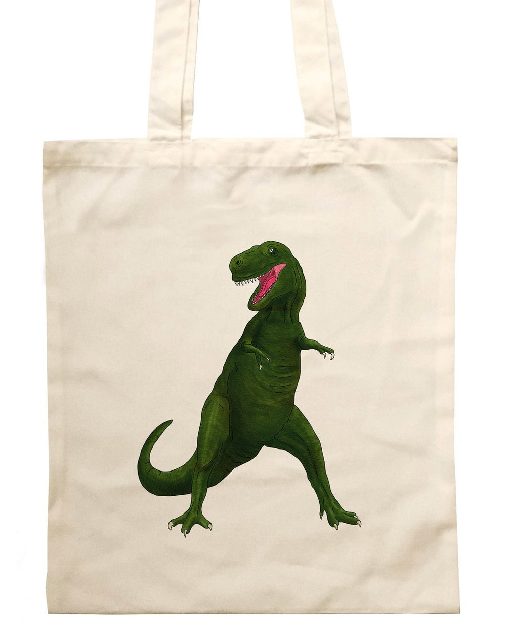 Image of Dinosaur Tote Bag