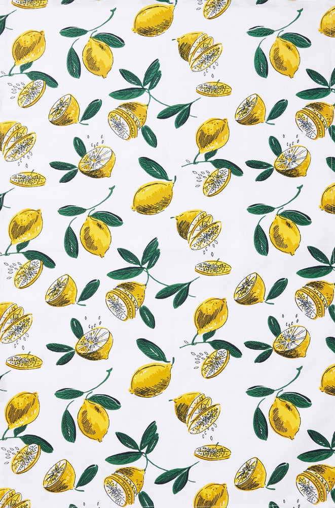 Image of Lemon Tea Towel