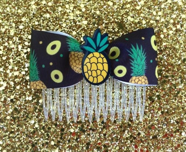 Image of SALE - Pineapple Tropical Explosive Delight Hair Comb