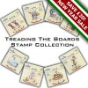 Treading The Boards Stamp Collection