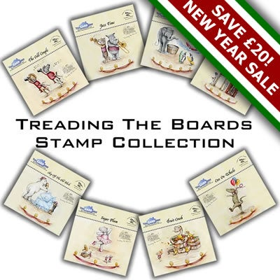 Image of Treading The Boards Stamp Collection