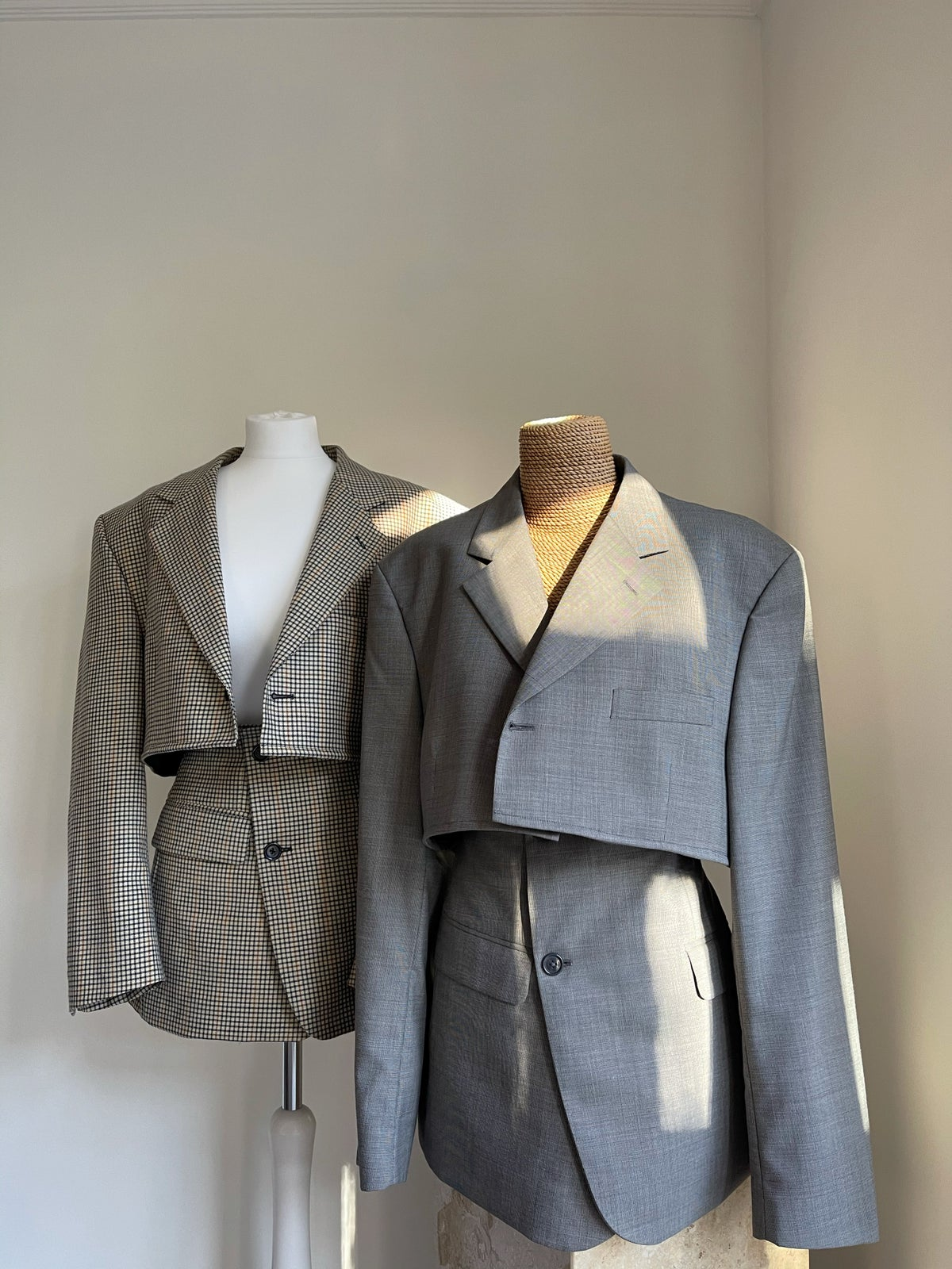 Reworked Light Grey Suit