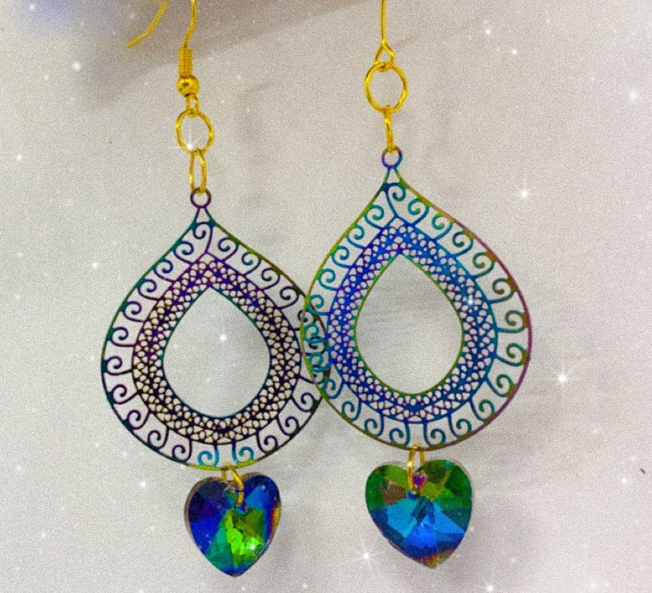 Image of rainbow earrings 1