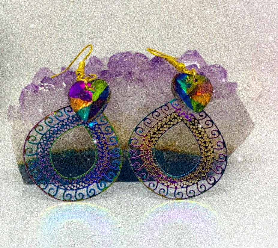 Image of rainbow earrings 2