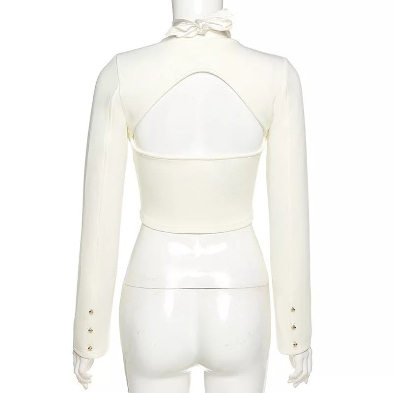 Image of SATIN DELUXE TOP