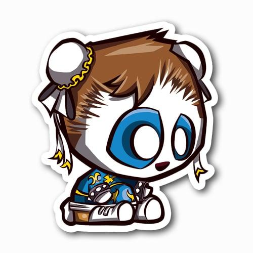 Image of Panda Chun Li Sticker