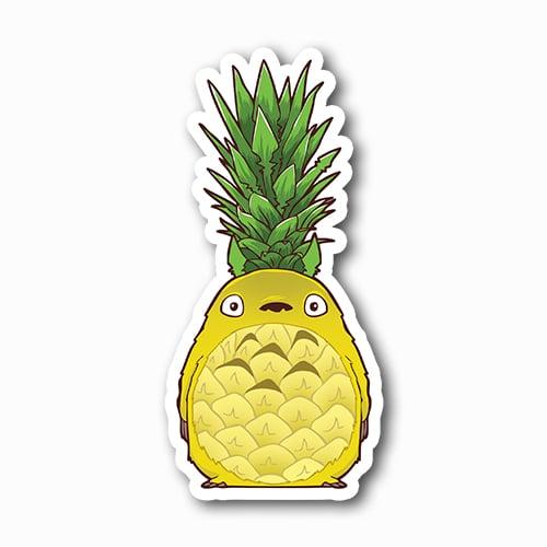 Image of Pineapple Totoro Sticker