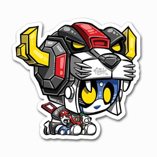 Image of Pandatron Sticker