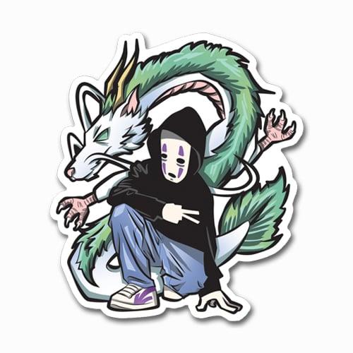 Image of No-Face + Haku Sticker