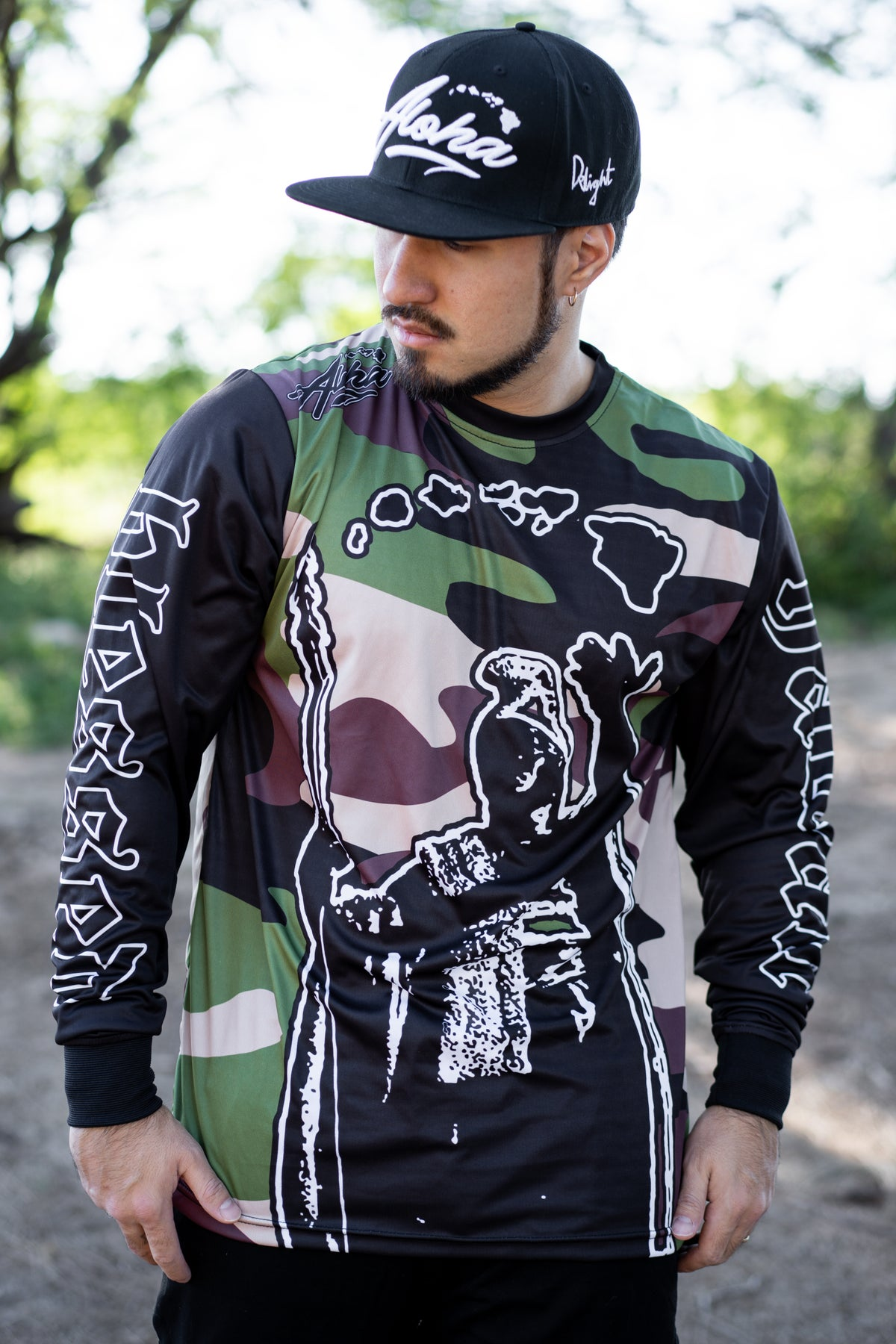 King. K Camo Sublimation Longsleeve