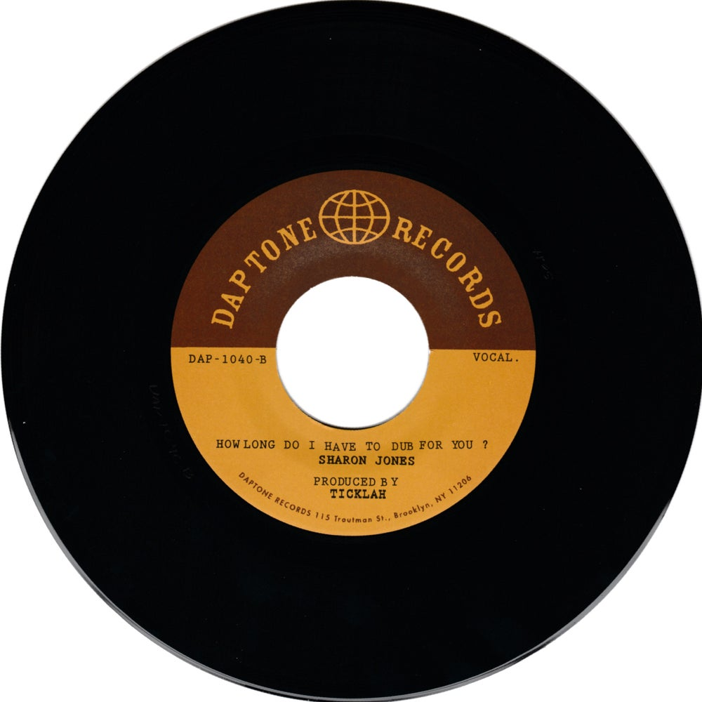 """Sharon Jones - How Long Do I Have To Wait For You? (7"""")"""