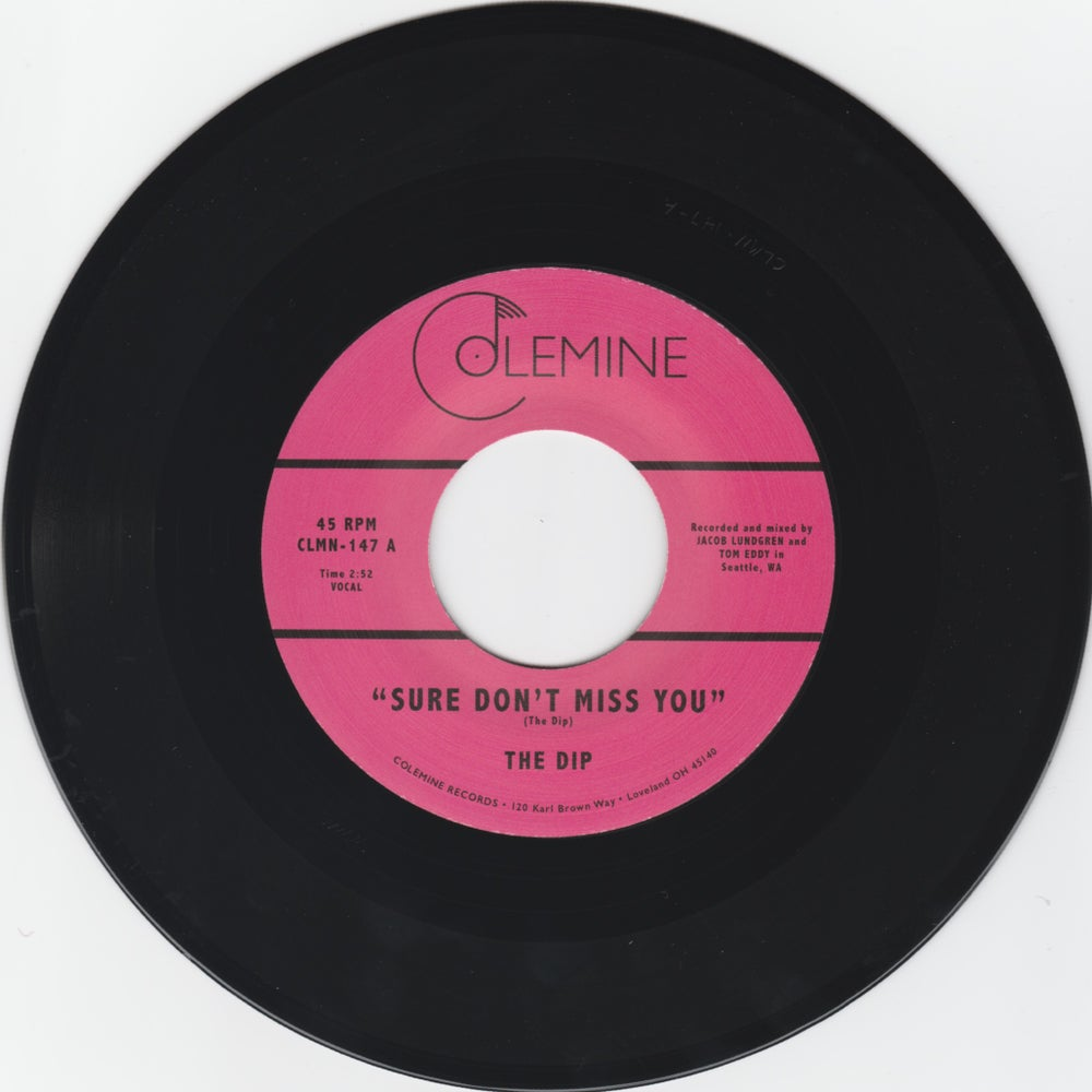 "The Dip - Sure Don't Miss You b/w Instrumental (7"")"