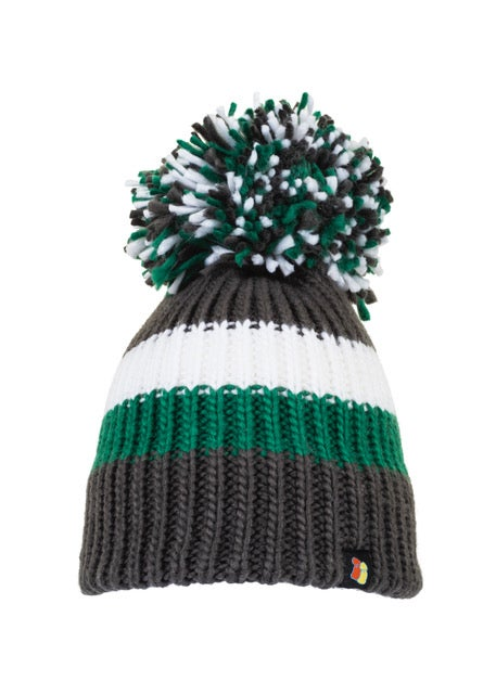 Image of Celtic grey bobble hat